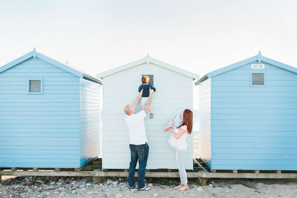 Katherine Newman Photography Sawyer and Bear Family Photographer