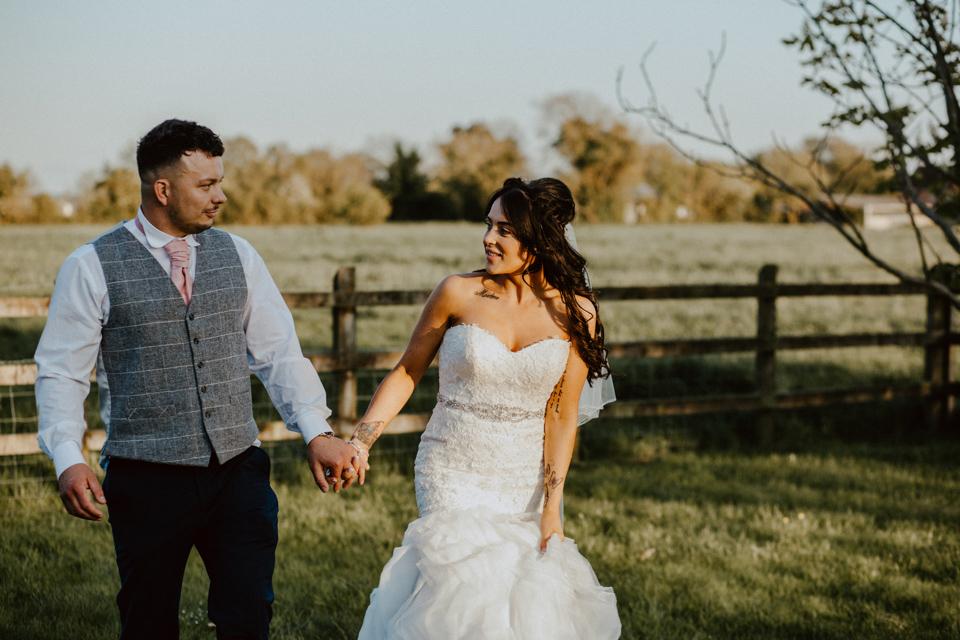 Happily married couple East Huntspill, Somerset, UK